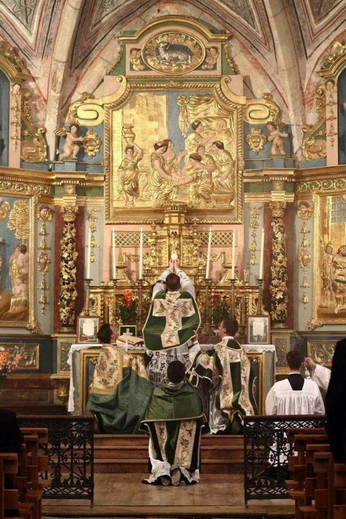 La misa tridentina